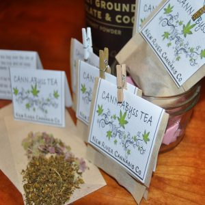 Cannabis Peppermint Tea Bags